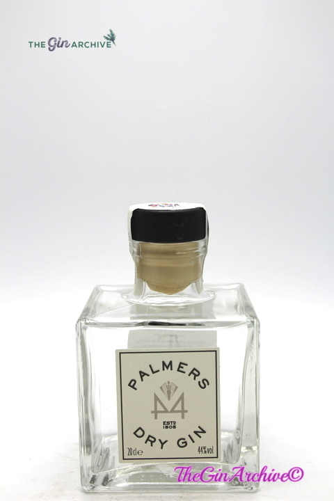 Palmer's Dry The Worshipful Company of Distillers Edition