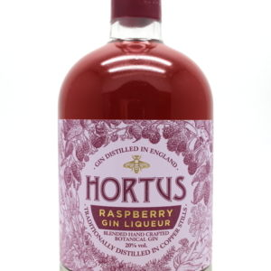 Hortus Raspberry Gin - back view